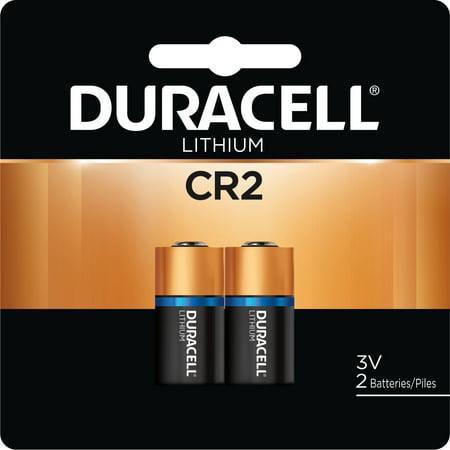 Duracell CR2 High Performance 3V Lithium Battery, 2 Pack ()