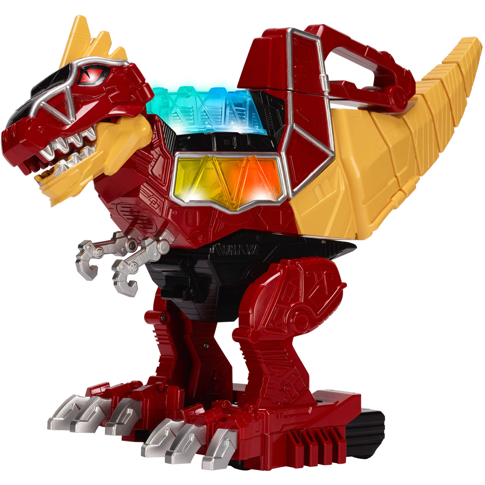Power Rangers Dino Charge Rumble Roar T-Rex Zord Action Figure Moves Stomps Toy Bandai 42061 by Bandai