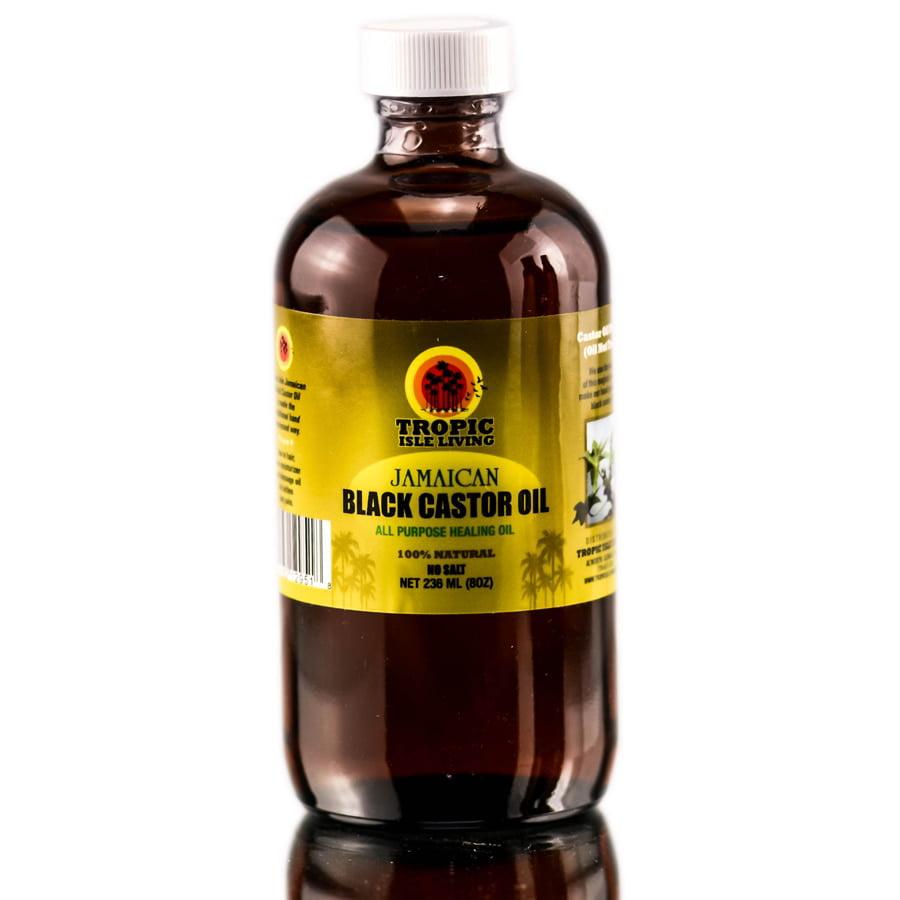 Tropic Isle Living Jamaican Black Castor Oil - Size : 8 oz