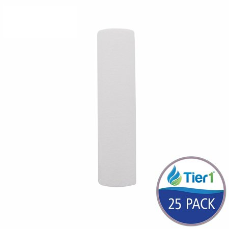 P10-10 10 Micron 10 x 2.5 Spun Wound Polypropylene Sediment Pentek Replacement Water Filter 25 Pack, QUICK & EASY INSTALLATION - Fits most housings that accept.., By - Wound Polypropylene Filter
