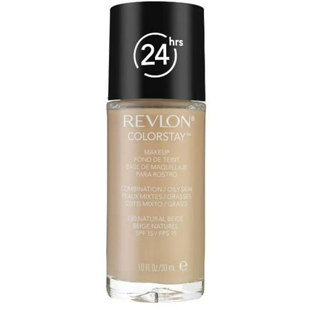 Revlon Colorstay for Combo/Oily Skin Makeup, Natural Beige [220] 1