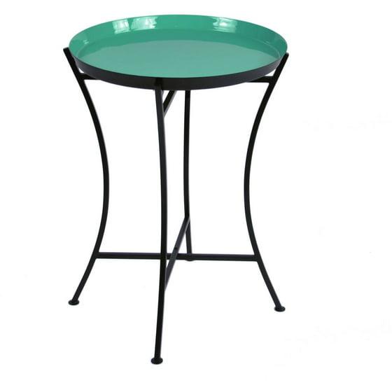Enamel Tray Coffee Table: Enamel Tray Table, Jade