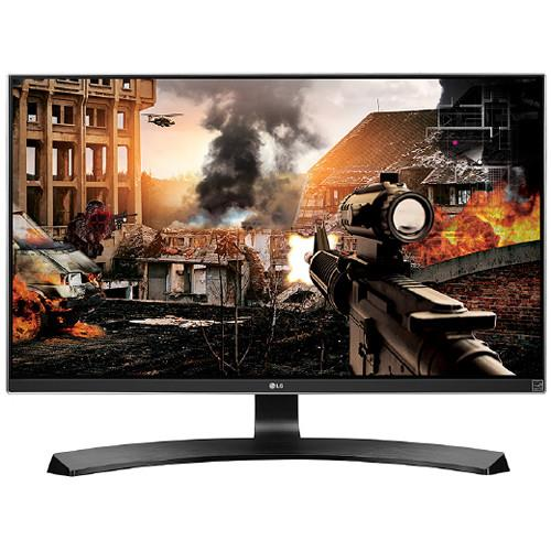 "LG 27UD58P-B 27"" 4K Ultra HD IPS Free-Sync LED Gaming Monitor, 3840x2160"