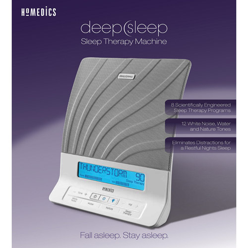 HoMedics Deep Sleep Sleep Therapy Machine, Model #HDS-2000