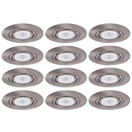 "Elegant Lighting RE317 Elitco 6"" Recessed Gimbal Ring Trim - Pack of 12 Trims"