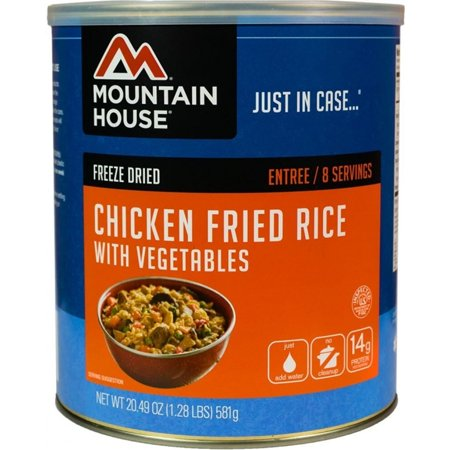 Mountain House Freeze Dried Meal - Chicken Fried Rice - 1 Can -