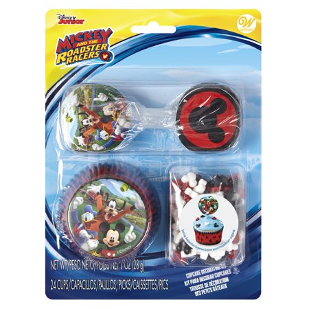 Wilton Mickey Mouse and the Roadster Racers Cupcake Decorating - Mickey Mouse Smash Cake