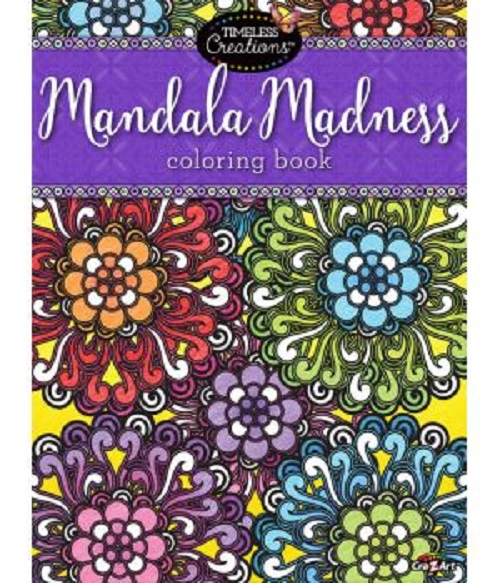 Cra Z Art Mandala Madness Coloring Book by CRA Z ART
