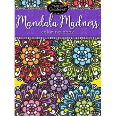 Cra Z Art Mandala Madness Coloring Book