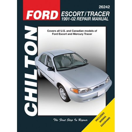 Ford Escort & Mercury Tracer 1991-2002 (Chilton's Total Car -
