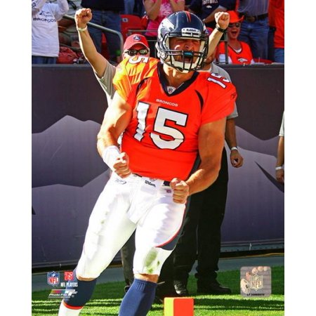 Tim Tebow 1St Nfl Touchdown 2010 Action Photo Print