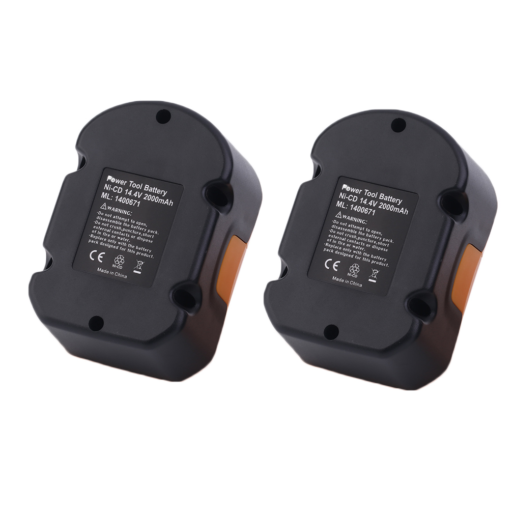 New A Pair Of 14.4V Ni-CD Rechargeable Replacement Power ...