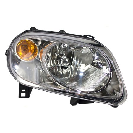 BROCK Headlight Headlamp Passenger Replacement for 06-11 Chevrolet HHR (2008 Chevrolet Hhr Replacement)