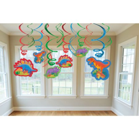 Dinosaur Party Hanging Decorations - Dinosaur Party