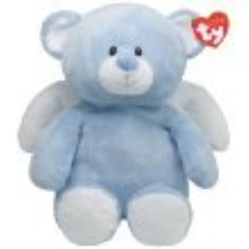 Ty Pluffies Little Angel - Blue Bear