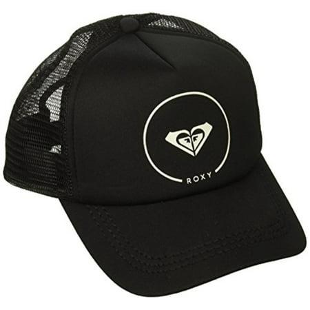 roxy women's truckin trucker hat, black anthracite, 1sz (Roxy Hats For Women)