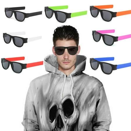Folding Popa Circle Riding Sunglasses Men'S Sunglasses Folding Sunglasses - image 8 de 9