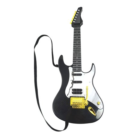 Little Kids Rock Star Guitar Toy Electric Toy Guitar Battery Operated