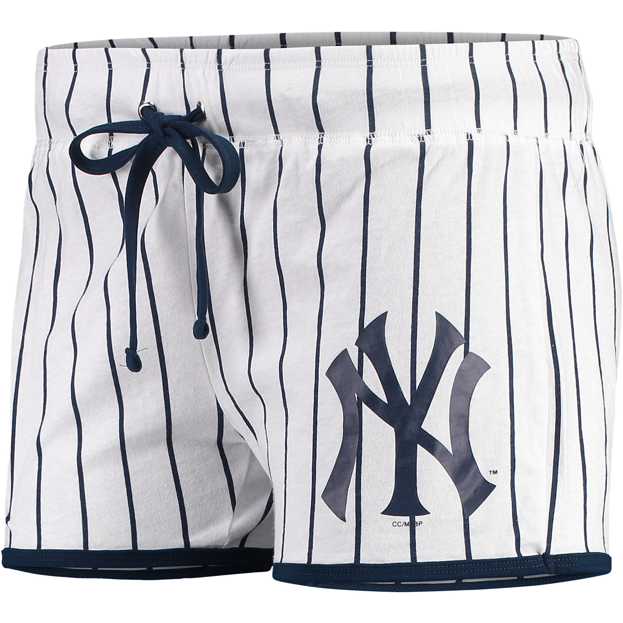 New York Yankees Concepts Sport Women's Vigor Sleep Shorts - White/Navy