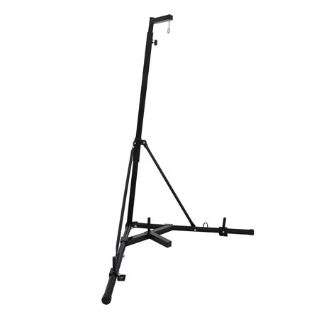 VEVOR Dual Station Boxing Stand Free Standing Heavy Bag Stand Folding Boxing Bag Stand for Heavy Bag Kick Punching Training