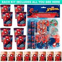 Spiderman Webbed Wonder Favor Kit (for 8 Guests)
