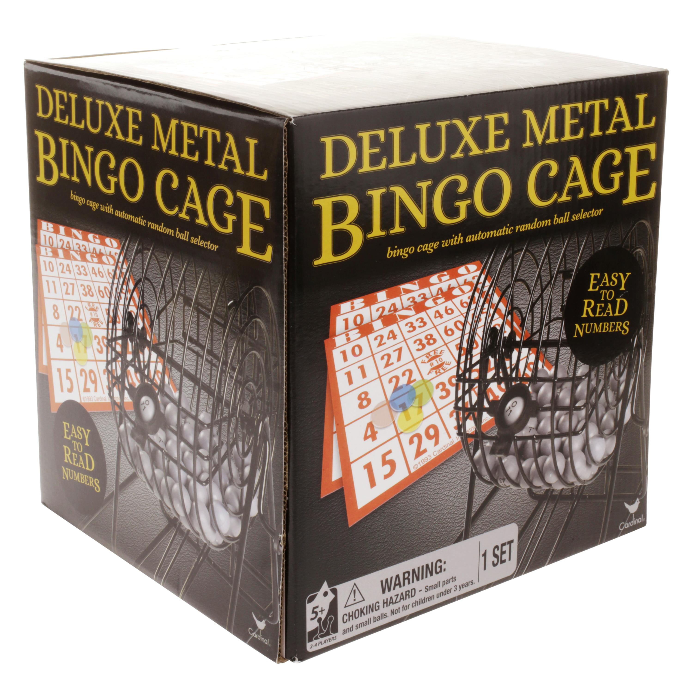 Deluxe Metal Bingo Cage