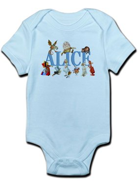 77345e18c92 Product Image CafePress - Alice   Friends In Wonderland Infant Bodysuit -  Baby Light Bodysuit