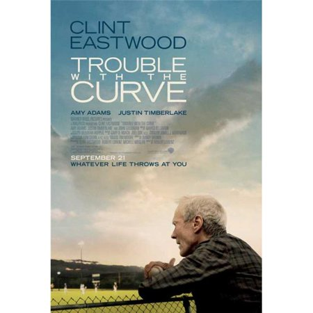 Posterazzi MOVIB00405 Trouble with the Curve Movie Poster - 27 x 40 in. - image 1 of 1