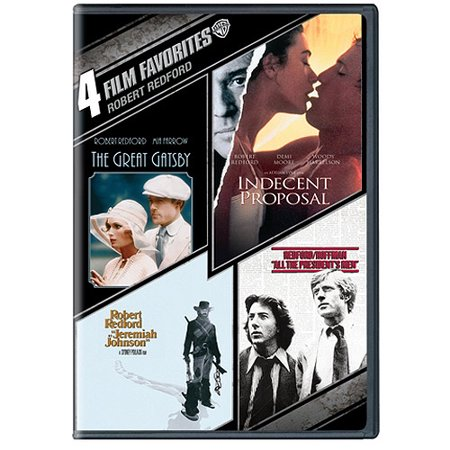4 Film Favorites Robert Redford The Great Gatsby Indecent
