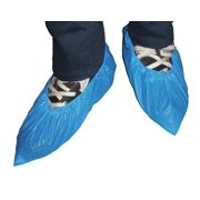 KEYSTONE SC-CPE-BLUE-XL Shoe Covers,XL,Blue,Polyethylene,PK300