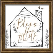 Carpentree Words of Gold 'Bless this Home' Textual Art