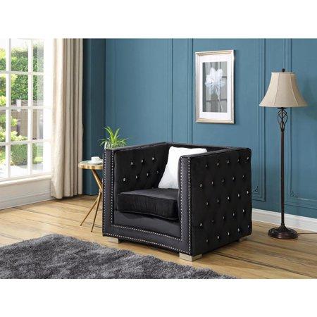 Glory Furniture Miami G803-C Chair, Black ()