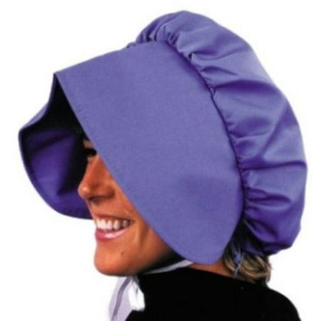 Halloween Adult Pioneer Blue Bonnet for $<!---->