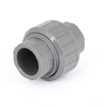unique bargains pvc plastic hose fitting pipe connector 20mm x 20mm for water supply. Black Bedroom Furniture Sets. Home Design Ideas