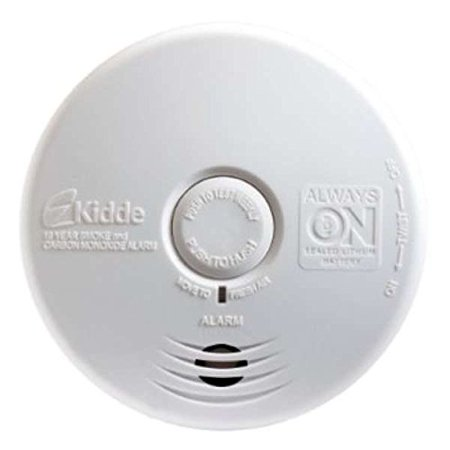 Carbon Seal - Kidde P3010K-CO Worry-Free Kitchen Photoelectric Smoke and Carbon Monoxide Alarm with 10 Year Sealed Battery (2 Pack)