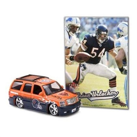 Limited Edition Tin (2005 NFL Limited Edition Diecast 1:64 Cadillac Escalade Collectible - Chicago Bears with Brian Urlacher Trading)