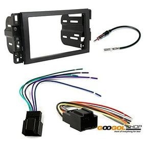 Chevrolet 2006 2013 Impala Car Stereo Dash Install Mounting Kit Wire Harness Radio Antenna Walmart Com Walmart Com