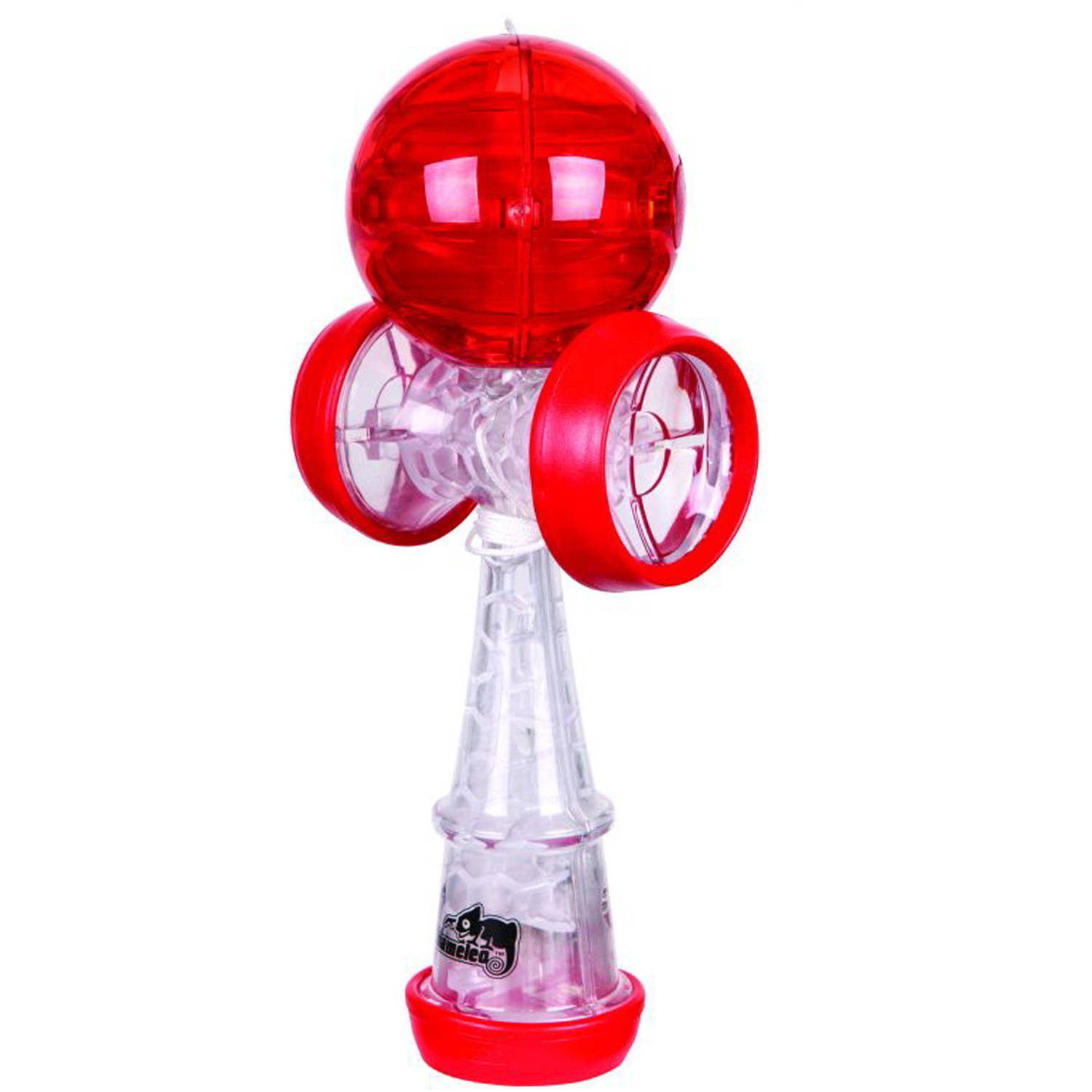 Duncan Chameleo Kendama, Clear with Red