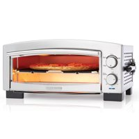 Deals on BLACK+DECKER 5-Minute Pizza Oven and Snack Maker P300S