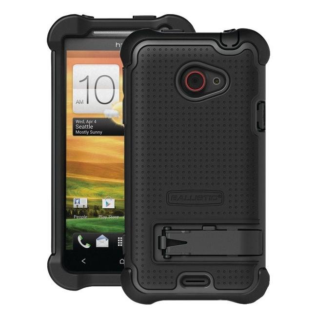 BALLISTIC SX0910-M005 HTC(R) EVO(TM) 4G LTE SG MAXX Case (Black)