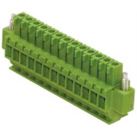 5X Fci 20020009-D101B01Lf Terminal Block, Plug, 10Pos, 28-16Awg
