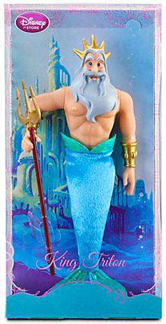 Disney The Little Mermaid King Triton Doll [No Packaging] by
