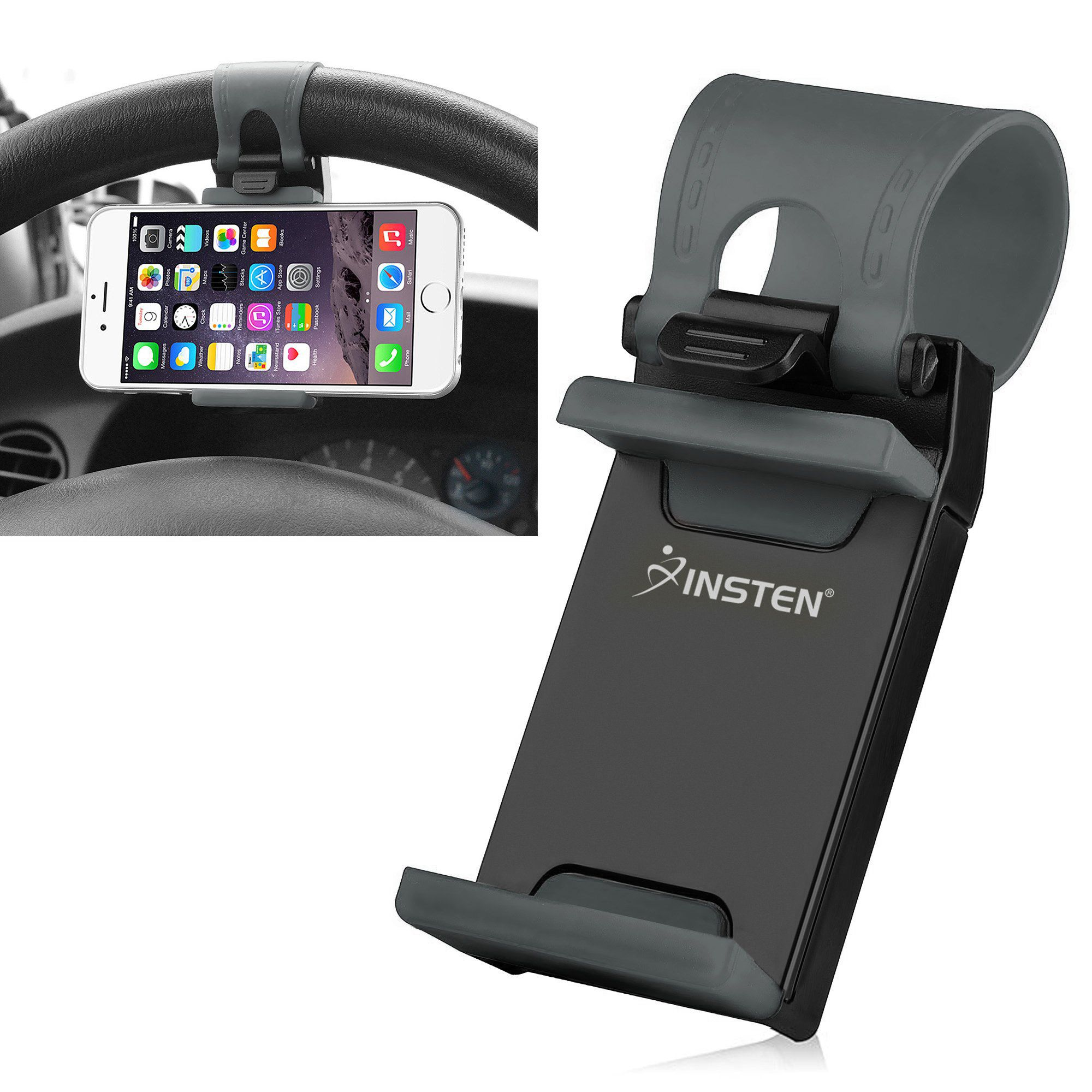 how to search by image on iphone insten universal car steering wheel phone car mount cell 20284