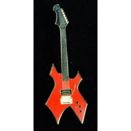Harmony Rod - Harmony Jewelry BC Rich Warlock Electric Guitar in Gold and Red