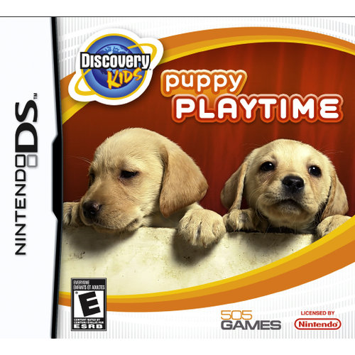 discovery kids puppy playtime - nintendo ds