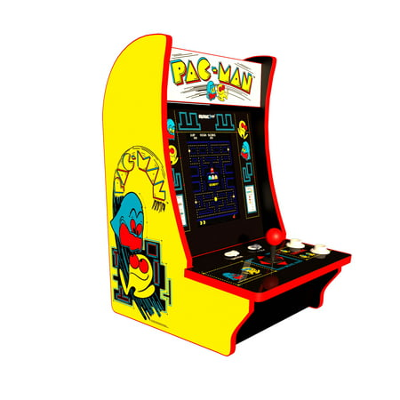 Pac-Man and Pac & Pal Counter Arcade Machine, Arcade1UP Own Arcade Machine