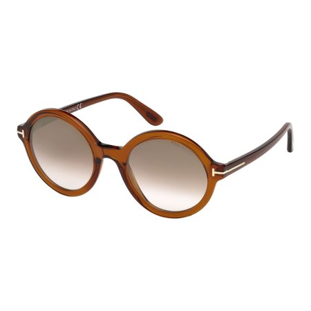Tom Ford Nicolette 02 Women Sunglasses Crystal Brown NEW AUTHENTIC Frame Width: (Tom Ford Brille Frames Für Frauen)