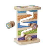 Deals on Melissa & Doug First Play Wooden Safari Zig-Zag Tower w/4PCs