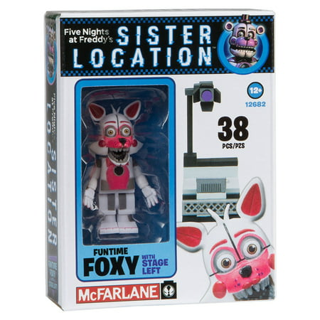 Box Set Mcfarlane Toys - McFarlane Toys Five Nights At Freddy's Spotlight Stage Left Construction Building Kit