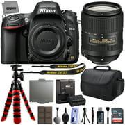 """Nikon D610 DSLR SLR Digital Camera + 18-55mm VR II + 6.5mm Fisheye + 55-300mm VR + 420-1600mm Lens + Filters + 128GB Memory + Action Stabilizer + i-TTL Autofocus Flash + Backpack + Case + 70"""" Tripod"""